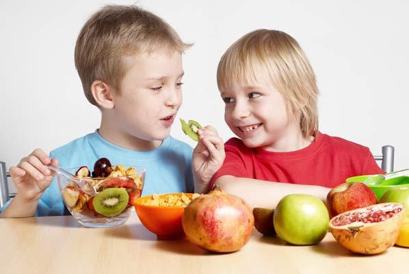 Φρούτα και λαχανικά βοηθούν το ανοσοποιητικό σύστημα να λειτουργεί καλύτερα.